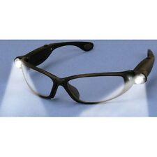 New ANSI Approved Safety Glasses With Built in LED For Hands Lighting Free Ship