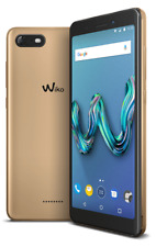 "Wiko Tommy3 4G Android GO 8Mp WiFi GPS 5.5"" Tommy 3 16GB radio GOLD +extra cover"