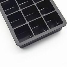 silicone moule à glace 3er Set 15 compartiments XXL jumbo Cube de broyeur à
