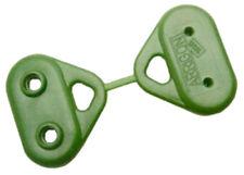 50x ganci gancio bottoni fissaggio rete ombreggiante antigrandine clips ARRIGONI