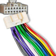 Wire Harness for Select Panasonic Stereos 16 pin White Plugs into back of stereo