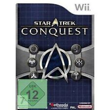 Nintendo Wii Jeu STAR TREK: Conquête Rareté NEUF