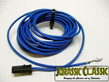 Chevy 1964-77 Rear Seat Radio Stereo 6x9 Blue Speaker Wire Lead Pigtail Harness