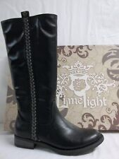Limelight Size 6 M Serena Black Knee High Boots New Womens Shoes