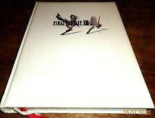FINAL FANTASY XIII-2 OFFICIAL STRATEGY GUIDE - COLLECTORS' HARDBACK EDITION RARE