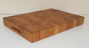 Solid Oak Chopping Board Cutting Board Butchers Block 40x30x4 cm End Grain