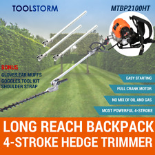 4-STROKE Backpack Pole Hedge Trimmer Saw Brush Cutter Chainsaw Whipper Snipper