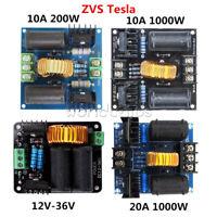 12-30V 10A/20A 200W/1000W 12-36V ZVS Tesla Flyback Driver Board Acrylic Case Kit