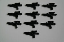 10 Lego Star Wars Waffen Blaster Gewehre schwarz 58247