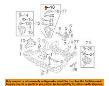 KIA OEM Rondo Engine Motor Transmission-Support Bracket Upper Bolt 1140306146K