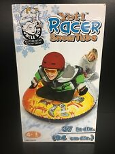 """UNCLE BOB'S Yeti Racer Snow Tube Sled 32"""" inflated  37"""" diameter"""