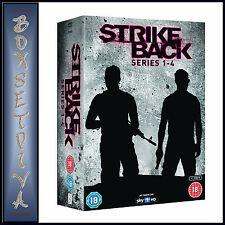 STRIKE BACK  - COMPLETE SERIES 1 2 3 & 4  **BRAND NEW DVD BOXSET**