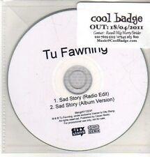 (CQ493) Tu Fawning, Sad Story - 2011 DJ CD