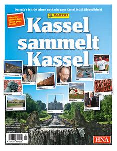 Panini Kassel sammelt Kassel -  alle 216 Sticker komplett + Album
