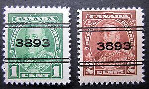 CANADA precancel OSHAWA #3-217-8 mint SET VERY FINE N.H.**  CAT$12.80++