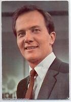 PAT BOONE Cartolina d'epoca 1960s Photo Music Cantante