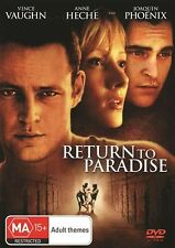 RETURN TO PARADISE- 1998-R4 LIKE NEW DVD ANNE HECHE VINCE VAUGHN JOAQUIN PHOENIX