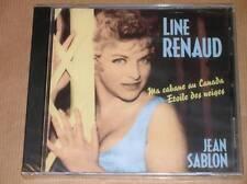CD / LINE RENAUD / JEAN SABLON / MA CABANE AU CANADA / NEUF SOUS CELLO