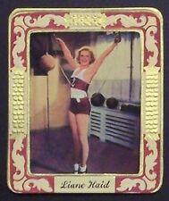 Liane Haid 1934 Garbaty Film Star Series 2 Embossed Cigarette Card #194