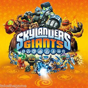 Skylanders GIANTS Single Character Packs New and Reposed Series 2 Figures - BNIP