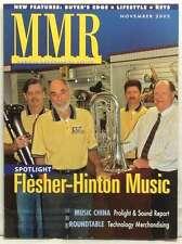 MMR MUSICAL MERCHANDISER REVIEW MAGAZINE FLESHER HINTON MUSIC ROUNDTABLE 2005!!!