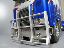 Aluminum Front Animal Bumper Guard Tamiya 1/14 Semi RC Globe Liner Tractor Truck