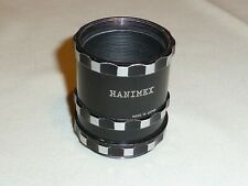 HANIMEX MANUAL PENTAX SCREW FIT EXTENSION TUBES