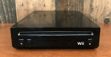 Nintendo RVL-101 Wii Console Only - Black *Tested & Works*