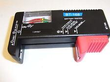 Tester   AA -AAA  da 1,5 A  9V  e  batterie a bottone