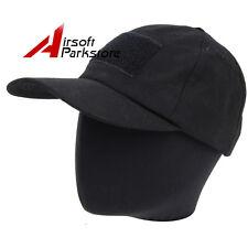 Tactical Military Operator Contractor Baseball Cap Hat Snapback Cap Black