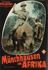 IFB 4340 | MÜNCHHAUSEN IN AFRIKA | Peter Alexander, Anita Gutwell | Top