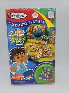 Colorforms Go Diego Go 3-D Deluxe Play Set  NEW IN SEALED BOX