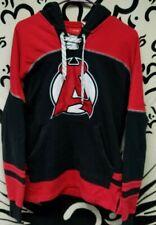 AHL NHL New Jersey Albany Devils Pullover Reebok Hockey Small Hoodie Sweatshirt