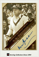 2011 Heritage Test Cricket Captains Blue Facsimile Signature #21: Don Bradman