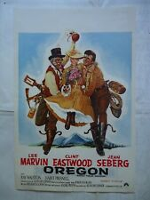 WESTERN/CLINT EASTWOOD/PAINT YOUR WAGON/WF/affiche belge