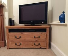 3ft Rustic TV Unit With 2 Drawers (Made to any size)