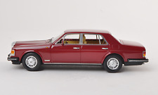 1:43 NEO Bentley Mulsanne 1990 Red Metallic new, limited edition 1 of 300, RARE