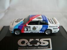 HERPA BMW M3 DTM 1990 #3 J. CECOTTO SCHNITZER WARSTEINER ORIG. BMW TEILE,NEU+OVP