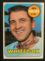 Don Pavletich White Sox signed 1969 Topps baseball card #179 Auto Autograph 1