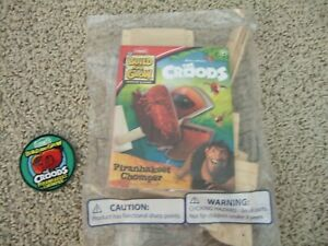 NEW Lowe's Build and Grow Home Depot  DreamWorks The Croods NIP w/ Patch