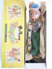 Pelham Puppet SS Boy Boxed vintage  1950s