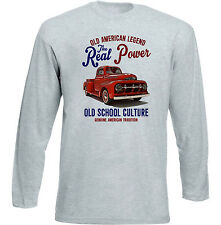 VINTAGE AMERICAN FORD F1 PICK UP TRUCK 1 - NEW COTTON T-SHIRT