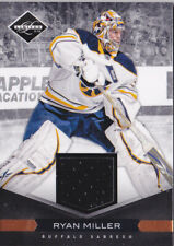 11-12 Limited Ryan Miller /99 Jersey Materials Sabres 2011