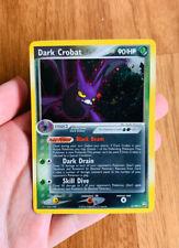 Dark Crobat Holographic 2004 EX Team Rocket Returns  #3 Pokemon Card