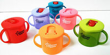 Tommee Tippee Colours Freeflow First Cup 190ml Age 4m Boys/girls BPA Red