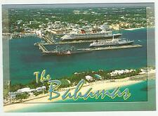 Cruise Ships pc larger Disney Magic,Ocean Breeze.. aerial view w/ boarder