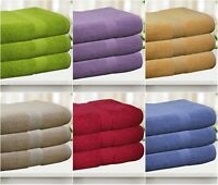JUMBO LUXURY EGYPTIAN 600 GSM THICK COMBED COTTON BATH SHEET TERRY X-LARGE TOWEL