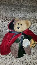 "BOYD'S BEARS BAILEY LITTLE RED RIDING HOOD - 8"" Fully Jointed Original Tags NWT"