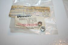 nos Yamaha snowmobile motorcycle LOCK nuts 2 pcs. 95601-05100 EX440 GPX SRX