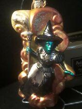 *Rare Kurt Adler Polonaise Komozja Wizard of Oz Wicked Witch Ap1190 Ornament